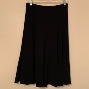 Chico's Travelers Slinky Knit A-Line Flare Skirt